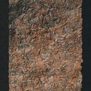 TEXTURA 1 - 1 990 - PAPEL HECHO A MANO SOBRE MOLDE - 0,86 m x 0,50 m
